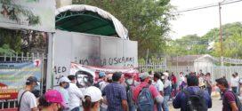 Maestr@s en Chiapas exigen el pago de salarios devengados de maestros interinos y el cumplimiento de acuerdos a los que se comprometió la secretaría de educación