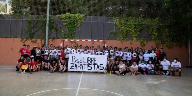 Cataluña: Cascarita desde Poble-Sec para apoyar la Gira por la Vida