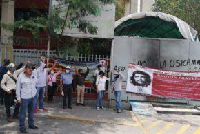 «Respeto de nuestro derecho a realizar cadenas de cambios internas de forma tradicional y democrática», exige magisterio estatal movilizado
