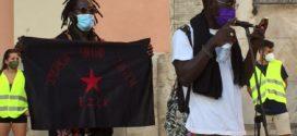 La diversidad de luchas del País Valencià recibe al Escuadrón Zapatista 421