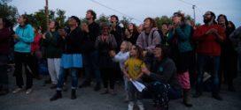 Surge la fuerza aérea zadista en Nantes en honor a la fuerza aérea zapatista