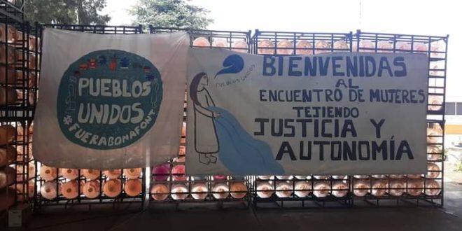 Puebla México: encuentro de mujeres «Tejiendo Justicia y Autonomía»