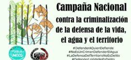Pueblos originarios convocan a Campaña Contra la Criminalización de la Defensa de la Vida, el Agua y el Territorio
