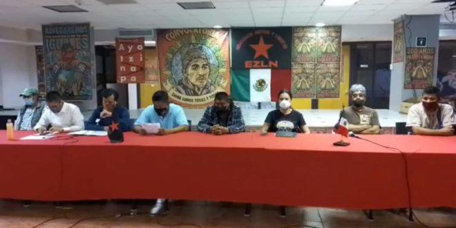 «Basta de despojo! ¡La luz es un derecho» Red Nacional de Resistencia Civil México