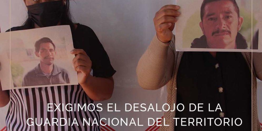 Chiapas: Exigen el desalojo de la Guardia Nacional del territorio tseltal