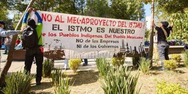 Oaxaca: organizaciones sociales del Istmo reclaman el respeto a sus derechos